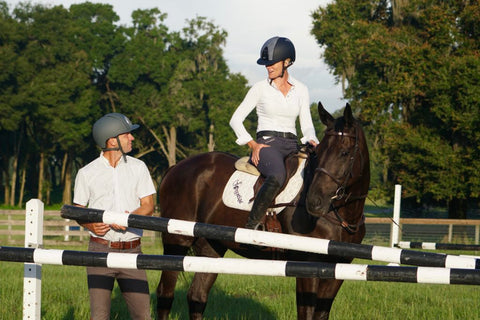 Eventer Sinead Halpin: Member of Team Absorbine with horse and partner