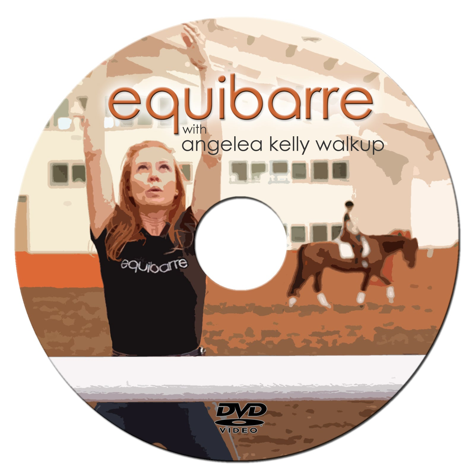 Image of the Equibarre exercise DVD
