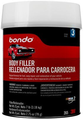 3M Bondo Lightweight Filler, 262T, 1 Quart