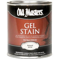 Old Masters Natural Oil Based Gel Stain Qt