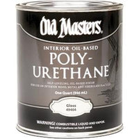 Old Masters Oil-Based Polyurethane l Gloss Qt