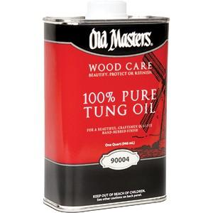 Old Masters 100% Tung Oil Qt 90004