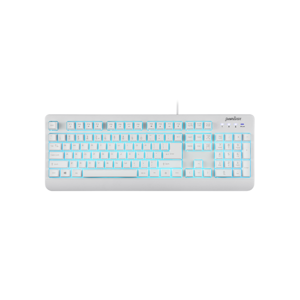 PERIBOARD-327 - White Waterpoof Keyboard