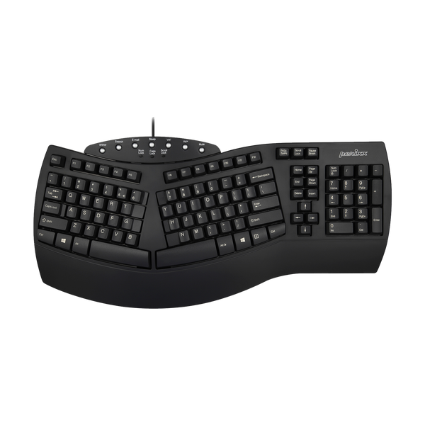 PERIBOARD-512 B - Wired Ergonomic Keyboard