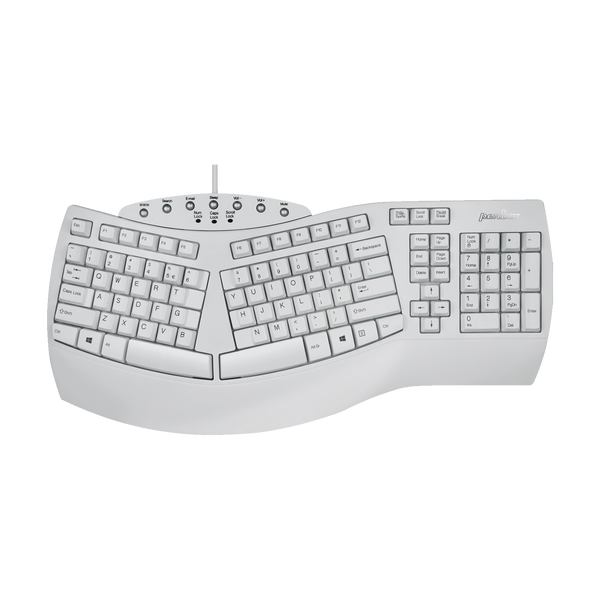 PERIBOARD-512 W - Wired Ergonomic Keyboard