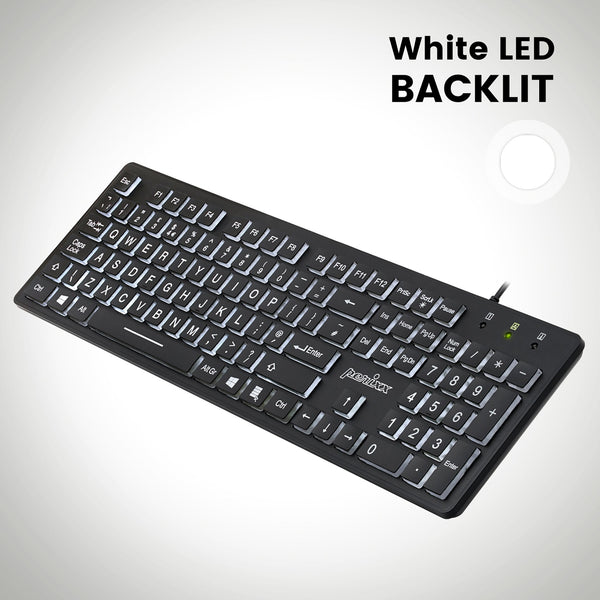 PERIBOARD-317 - Backlit Keyboard