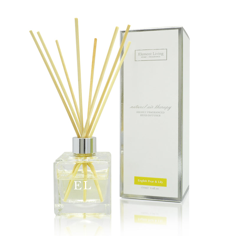 Reed Diffuser | English Pear & Lily Fragrance Diffuser