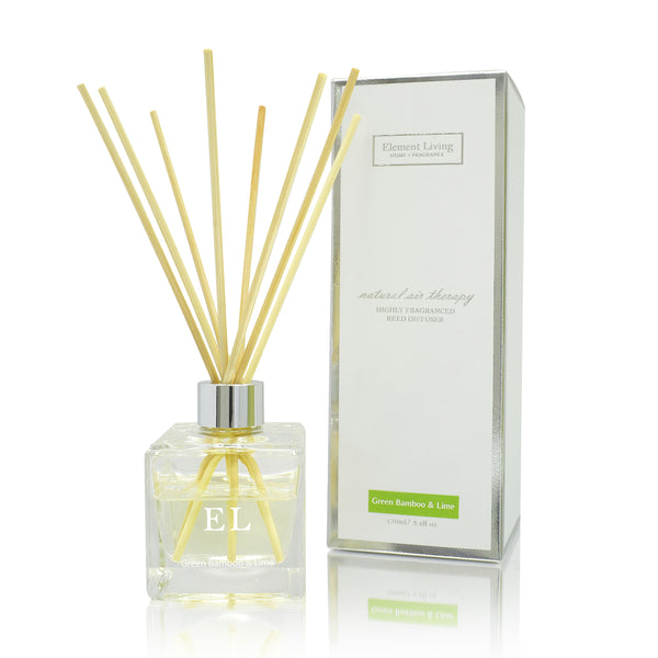 Reed Diffuser | Green Bamboo & Lime Fragrance Diffuser
