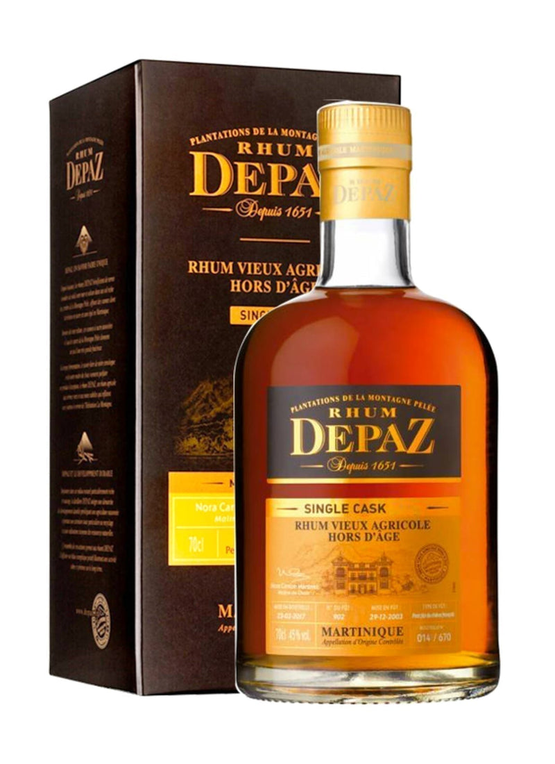 Depaz Rum Single Cask 2003 11 years 45% 700ml