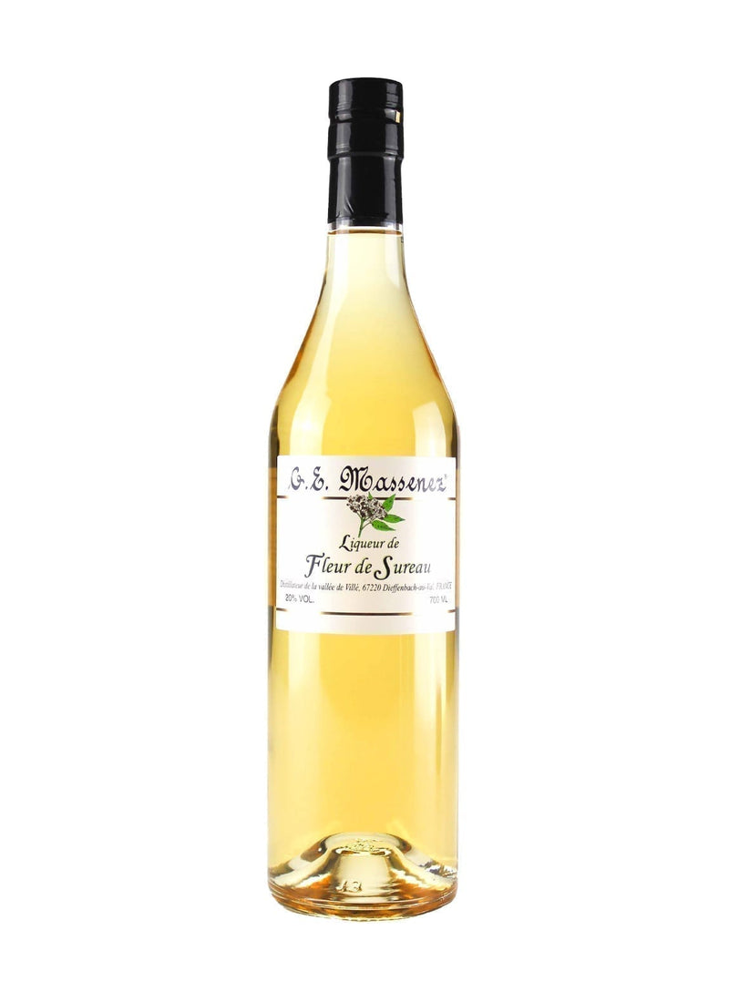 Massenez Elderflower Liqueur 20% 700ml