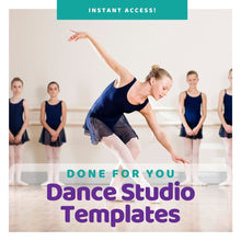 Load image into Gallery viewer, Top Ten Dance Studio Templates