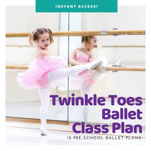 Load image into Gallery viewer, Bundle of 12 Pre-School Ballet Plans