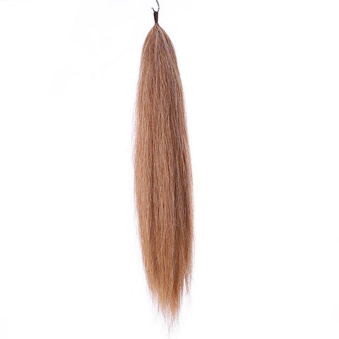 Y.J Tails Mixed Color natural loop false tail double thickness 70-76cm aC1/M5