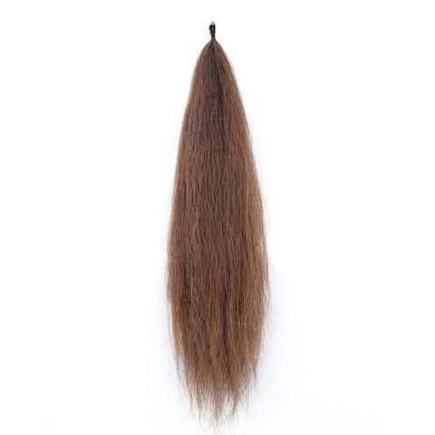 Y.J Tails Light Chestnut natural loop false tail double thickness 70-76cm aC1