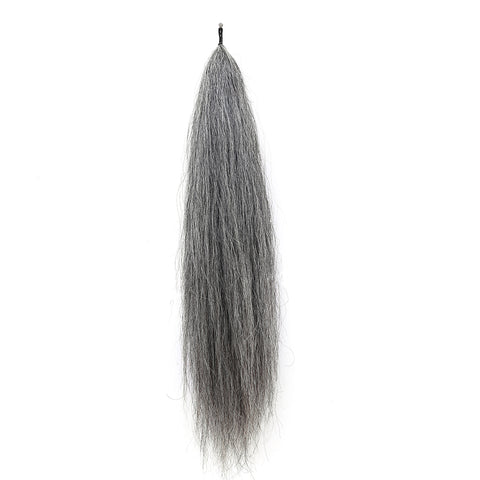 Y.J Tails Med Grey natural loop false tail double thickness 70-76cm aG2