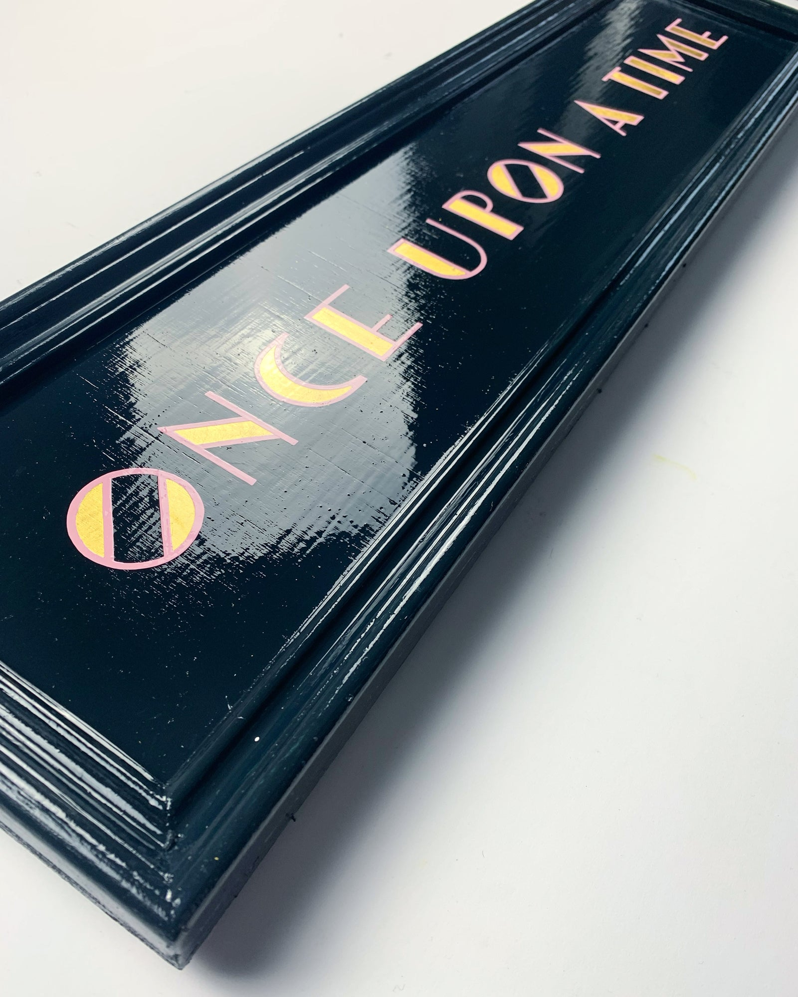 Once Upon A Time - Handpainted lettering - Daisy Emerson