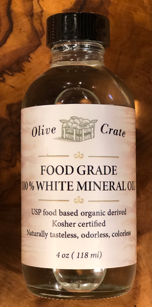 100% Organic derived food grade mineral oil