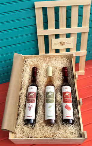 The Three Balsamics Gift Crate!