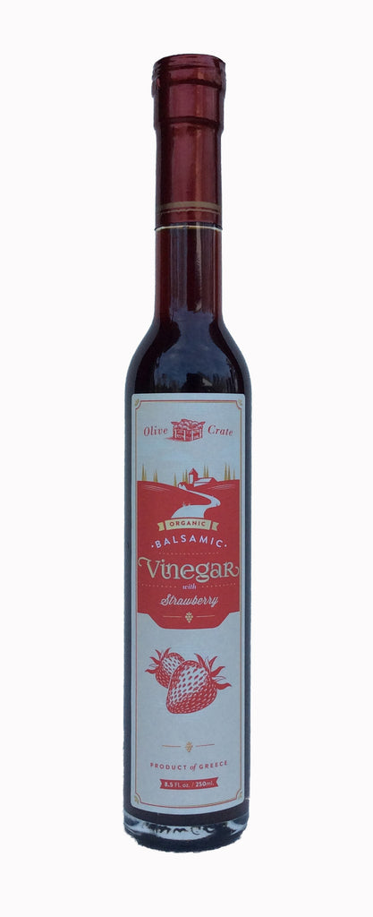 100% Organic Balsamic Vinegar with Strawberry