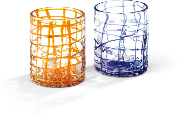 SOLE & GHIACCIO cocktail drink glass - 2 Pcs Set by Deagourmet