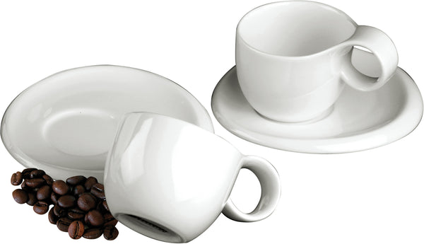 NINFEA CLASSICA set 2 espresso cups and 2 saucers by Deagourmet Italy