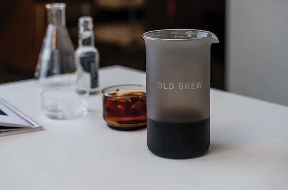 Goat Story Cold brew kit with Brazil arabica coffee