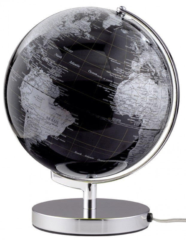 Emform TERRA LIGHT globe 25cm with an energy-saving lamp Black