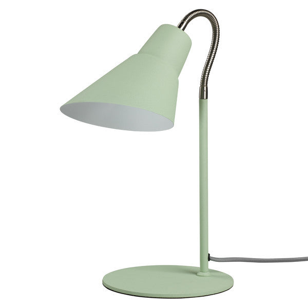 Wild Wood Gooseneck Lamp Swedish Green
