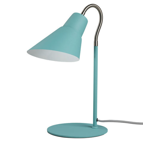Wild Wood Gooseneck Lamp French Blue