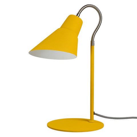 Wild Wood Gooseneck Lamp English Mustard