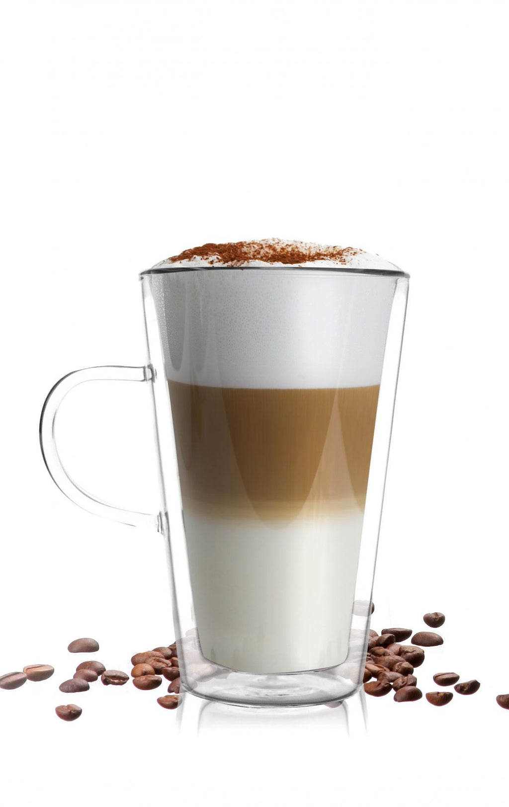 Vialli Design latte double wall glass 320ml