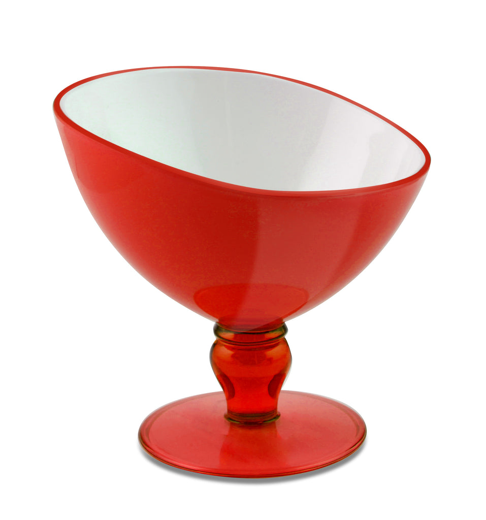 Vialli Design LIVIO Dessert Cups set of 2, Red