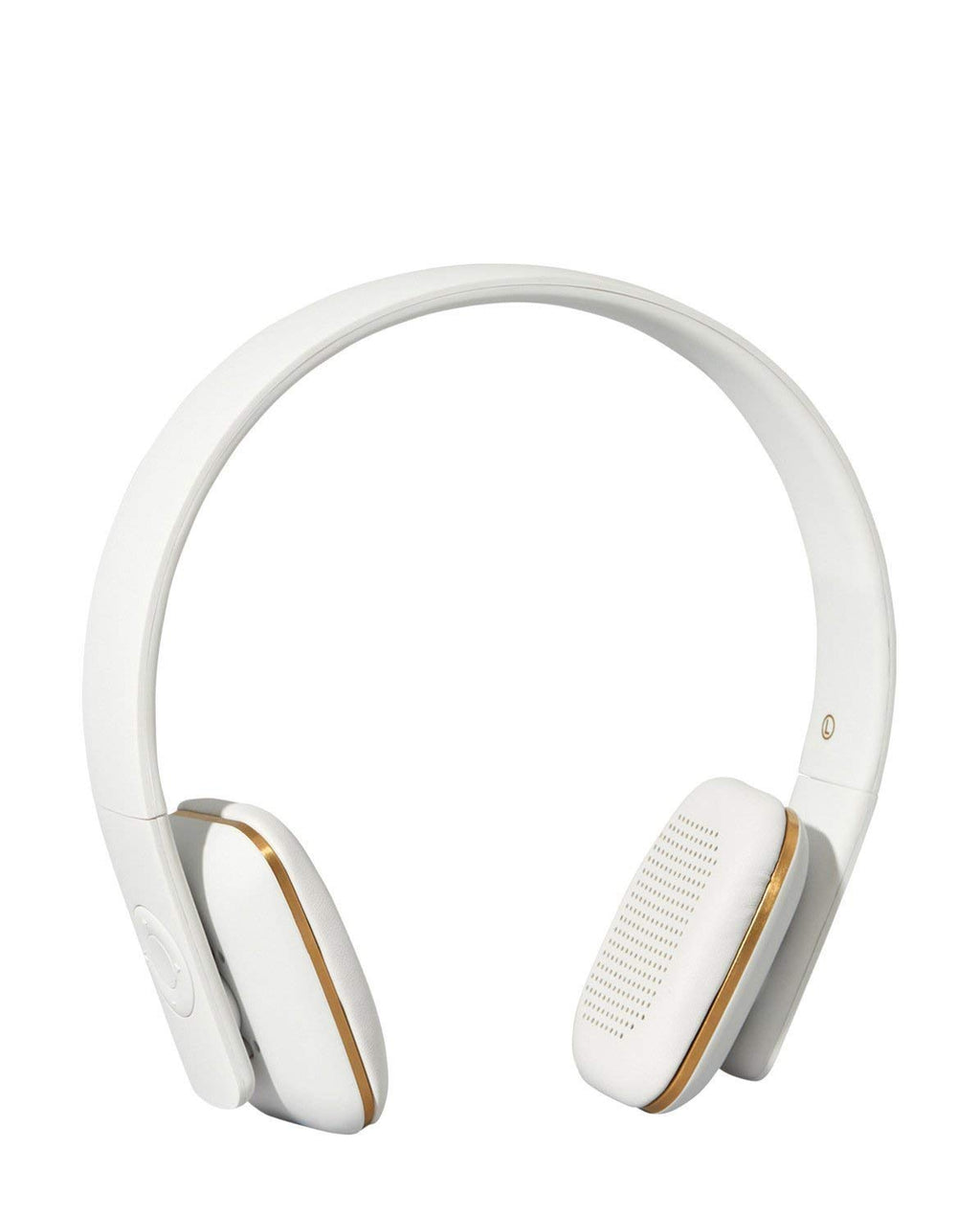 KREAFUNK AHEAD 40 mm Speakers Wireless Radio Headset Headphones - White