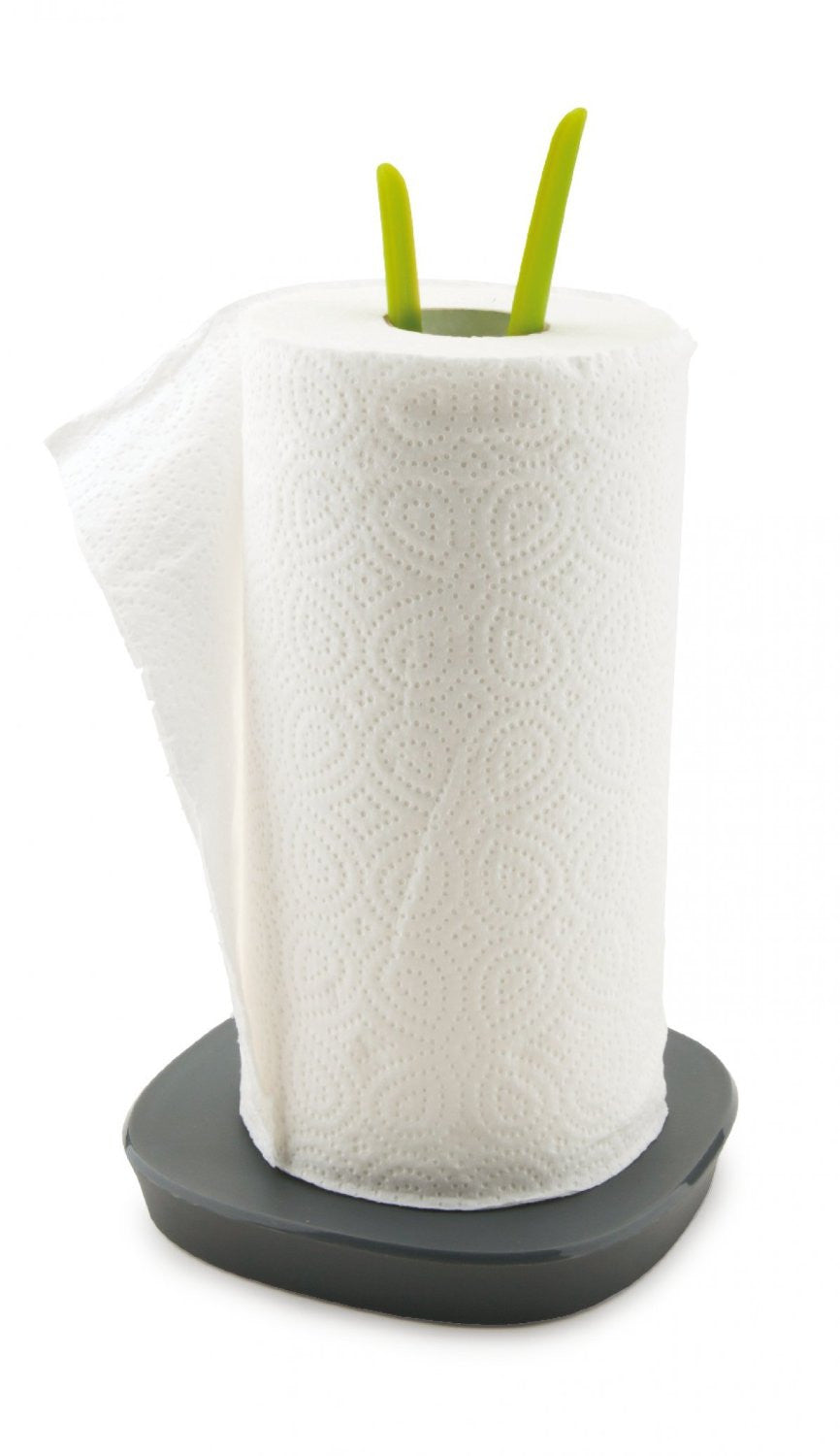 Vialli Design Kitchen Towel Roll Holder Green Designer Homeware Ltd