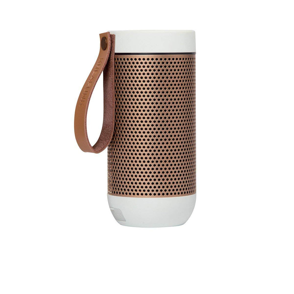 Kreafunk aFunk Wireless Bluetooth Speaker with Built-In Microphone Up to 20 hours playback time, allows pairing White