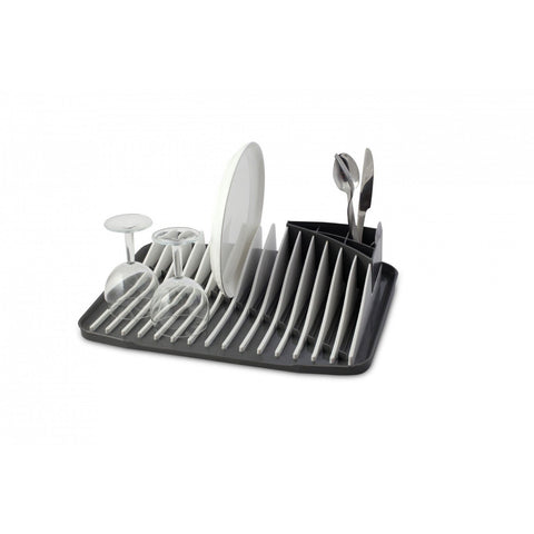 Vialli Design Dish Rack Drainer Piano White-Grey