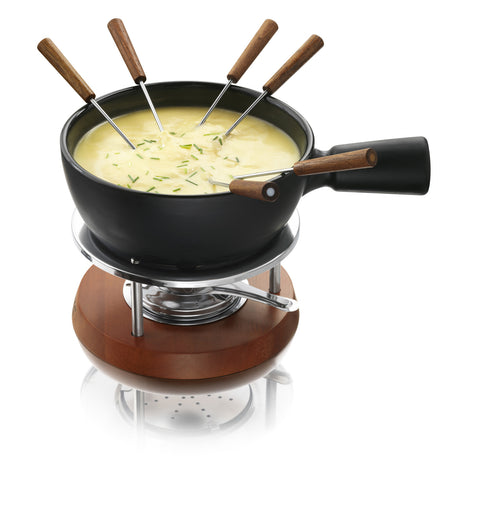 Boska Holland Fondue Set Nero 1L