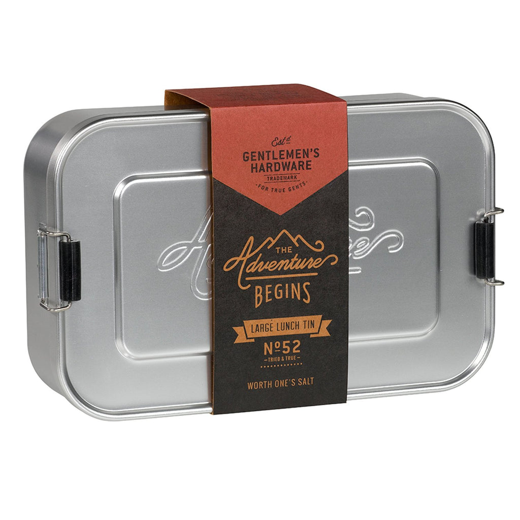 Gentlemen's Hardware Metal lunch box large