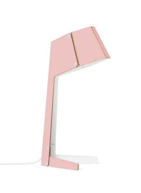 ANDBROS Cardboard Light Model No. 3 / Flamingo Pink