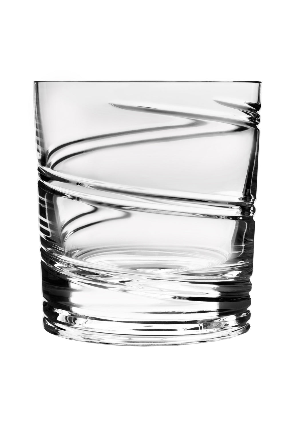 "Shtox ""Spiral"" Tumbler Crystal with Rotating Pattern by Shtox"
