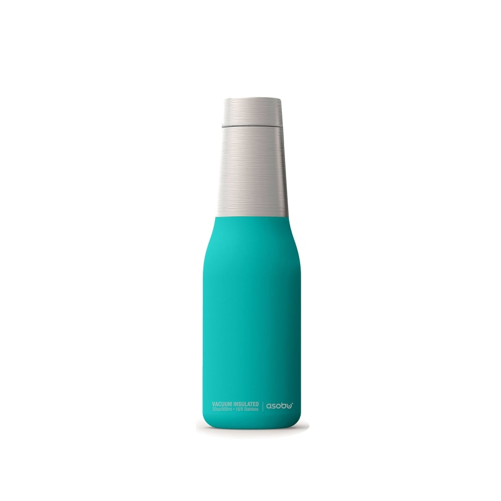 ASOBU Oasis 24 Hour Copper Insulated Water Bottle (600ml) - Turquoise