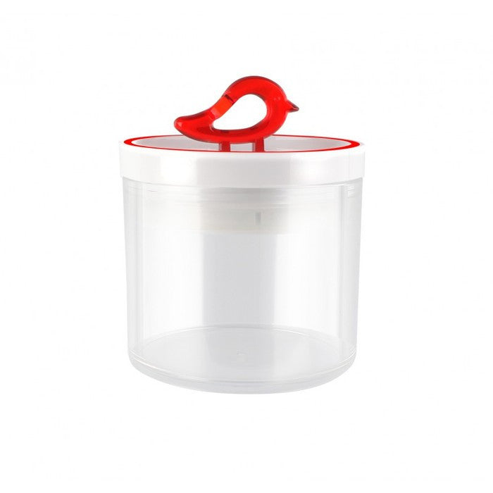 Vialli Design Storage Jar 400ml Livio, Red
