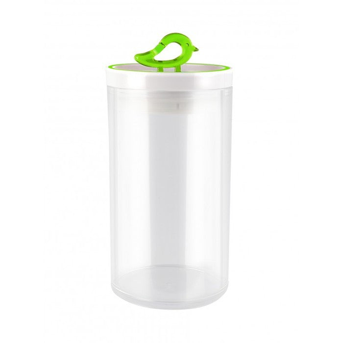 Vialli Design Storage Jar 1200ml Livio, Green