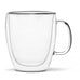 Vialli Design Amo Double Walled Large Tea/Coffee Glass 480ml