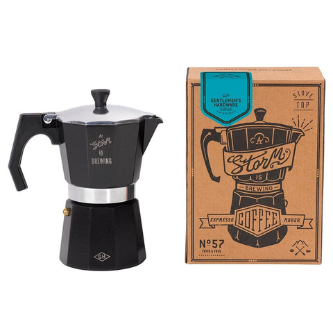 Gentlemen's Hardware Stove Top Espresso Coffee Maker
