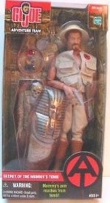 D002 GI Joe HASBRO Mummy's Tomb Set New Sealed various versions!