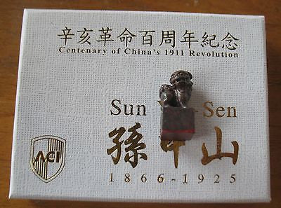 A380 ACI 1/6 Sun Yat Sen Accessories Shi Shi Lion Stamp Brand New In Hand From USA