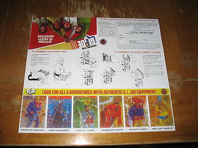 P064 3SB Reproduction Jettison to Safety Comic & Instruction Sheet.