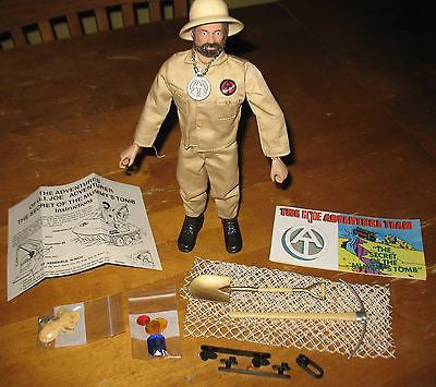 D164 3rd SON Books GI JOE Secret of the Mummy's Tomb Adventurer Repro & Reissued.