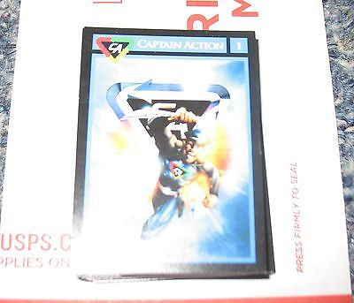 A294 Captain Action Full Deck of 50 Art Cards Brand New Unused!